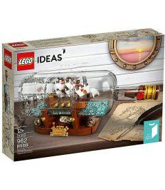 LEGO IDEAS - NAVE IN BOTTIGLIA