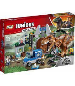 LEGO JUNIORS - JURASSIC WORLDL'EVASIONE DEL T-REX