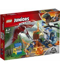 LEGO JUNIORS - JURASSIC WORLD FUGA DALLO PTERANODONTE