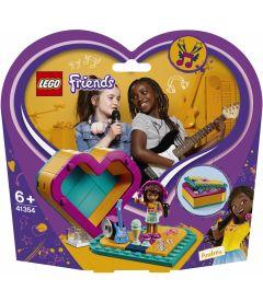 LEGO FRIENDS - SCATOLA DEL CUORE DI ANDREA