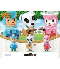 Amiibo Animal Crossing - Merino + K. K. Slider + Alpaca