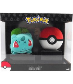 POKEMON - BULBASAUR E POKE BALL (SET 2 PZ)