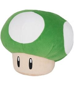 Super Mario - Fungo 1-UP (Verde, 15 cm)
