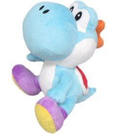 Nintendo - Yoshi (Azzurro, 20 cm)