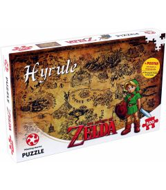 The Legend Of Zelda - Hyrule (500 pz)