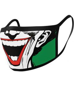 Mascherina Joker (2 Pezzi, Tessuto)