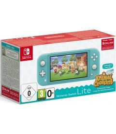Nintendo Switch Lite (Turchese) + Animal Crossing New Horizon