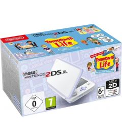 NEW NINTENDO 2DS XL BIANCO E LAVANDA + TOMODACHI LIFE