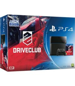 PS4 500GB + DRIVECLUB (B CHASSIS)