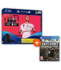 PS4 1TB PRO GAMMA + FIFA 20 + DAYS GONE