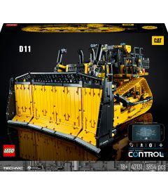 Lego Technic - Bulldozer Cat D11 controllato da app