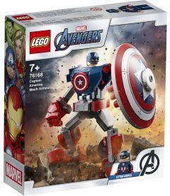 Lego Super Heroes - Armatura Mech Di Capitan America