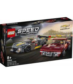 Lego Speed Champions - Chevrolet Corvette C8.R e 1968 Chevrolet Corvette
