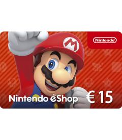 Nintendo eShop Card EUR 15