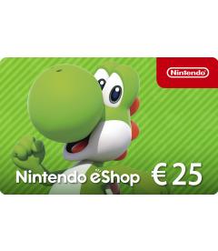 Nintendo eShop Card EUR 25