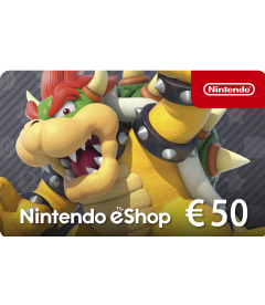 Nintendo eShop Card EUR 50