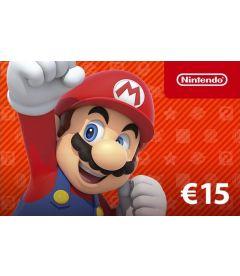Codice digitale per fondi Nintendo eShop EUR 15