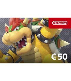 Codice digitale per fondi Nintendo eShop EUR 50