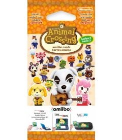 AMIIBO CARDS - ANIMAL CROSSING (SERIE 2)