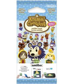 AMIIBO CARDS - ANIMAL CROSSING (SERIE 3)