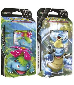 Pokemon - Lotta V Venusaur-V e Blastoise-V (Mazzo)