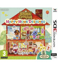 ANIMAL CROSSING HAPPY HOME DESIGNER + AMIIBO CARD
