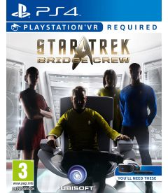 STAR TREK BRIDGE CREW (VR RICHIESTO)