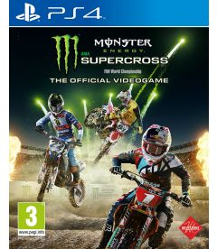 MONSTER ENERGY SUPERCROSS THEOFFICIAL VIDEOGAME