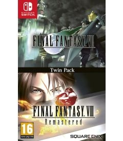 Final Fantasy 7 & Final Fantasy 8 Remastered (Twin Pack)