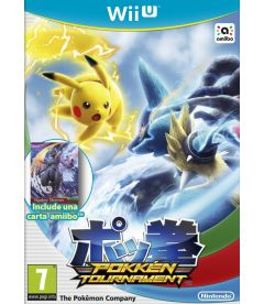 POKKEN TOURNAMENT + AMIIBO CARD