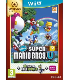 NEW SUPER MARIO BROS U + NEW SUPER LUIGI U (SELECTS)