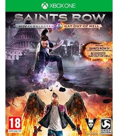 SAINTS ROW 4 RE-ELECTED GAT OUT OF HELL