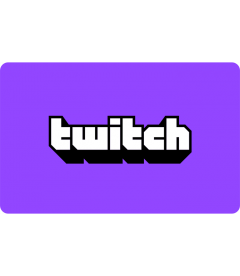 Twitch Digital Code EUR 25
