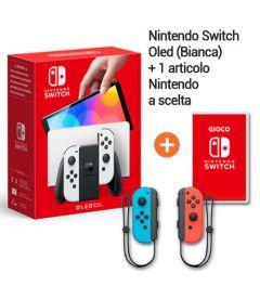 Bundle Nintendo Switch Oled Bianca