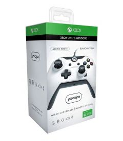 CONTROLLER XBOX ONE WIRED (WHITE CAMO)