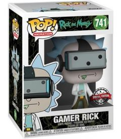 Funko Pop! Rick & Morty - Gamer Rick (Special Ed. 9 cm)