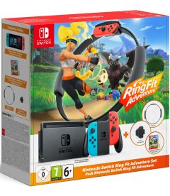 Nintendo Switch V2019 + Ring Fit Adventure (Limited Edition)