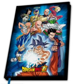 Dragon Ball Super - Universe 7 (Notebook, A5)