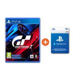 Gran Turismo 7 + Ricarica Playstation € 20 a soli € 71!