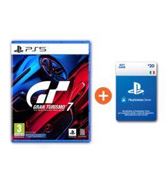 Gran Turismo 7 + Ricarica Playstation € 20 a soli € 81!