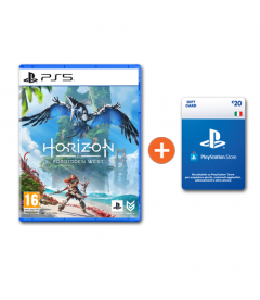 Horizon Forbidden West + Ricarica Playstation da € 20 a soli € 81