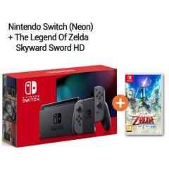Bundle Nintendo Switch Grigia + The Legend Of Zelda Skyward Sword Hd