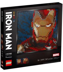 LEGO ART - IRON MAN MARVEL STUDIOS