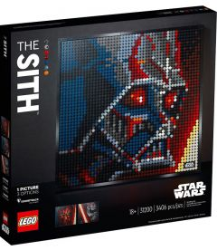 LEGO ART - I SITH STAR WARS