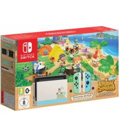NINTENDO SWITCH V 2019 + ANIMAL CROSSING (LIMITED EDITION)