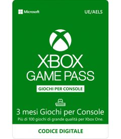 Xbox Game Pass (3 Mesi)