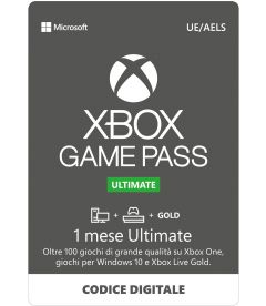 Xbox Game Pass Ultimate (1 Mese)