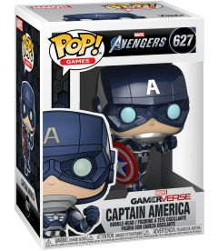 FUNKO POP! AVENGERS GAME - CAPT AMERICA STARK TECH SUIT(9CM)