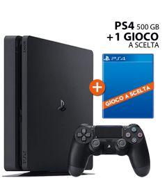 PS4 500GB Slim + 1 gioco a scelta