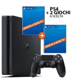 PS4 (500GB SLIM / PRO GAMMA) + 2 GIOCHI
